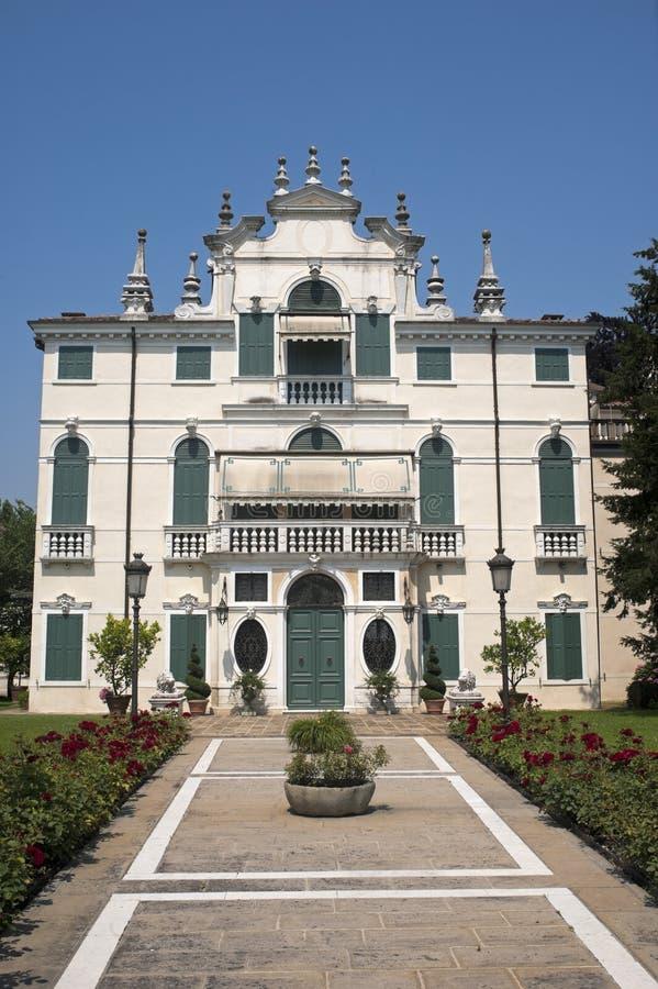 Riviera del Brenta (Veneto, Italy) - Villa royalty free stock photography