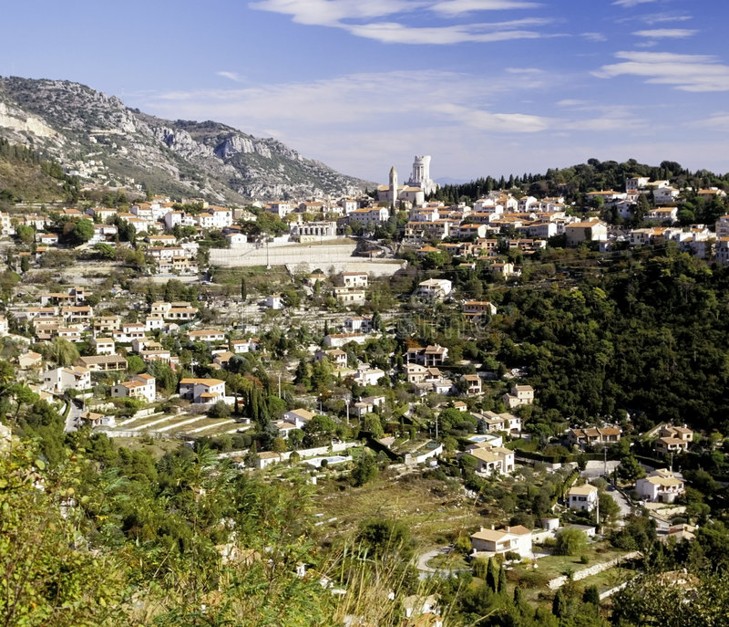 Riviera francês imagem de stock royalty free