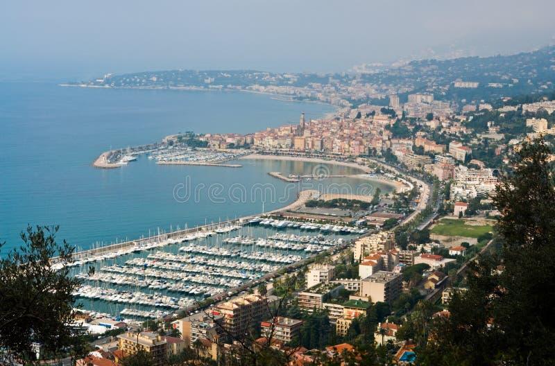 Riviera francesa foto de archivo