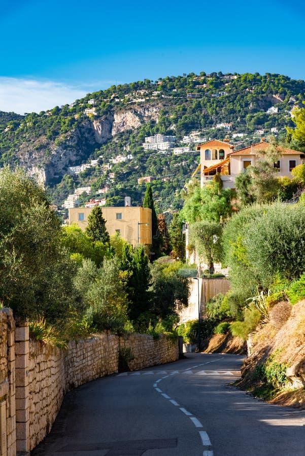 Riviera francesa de Niza imágenes de archivo libres de regalías
