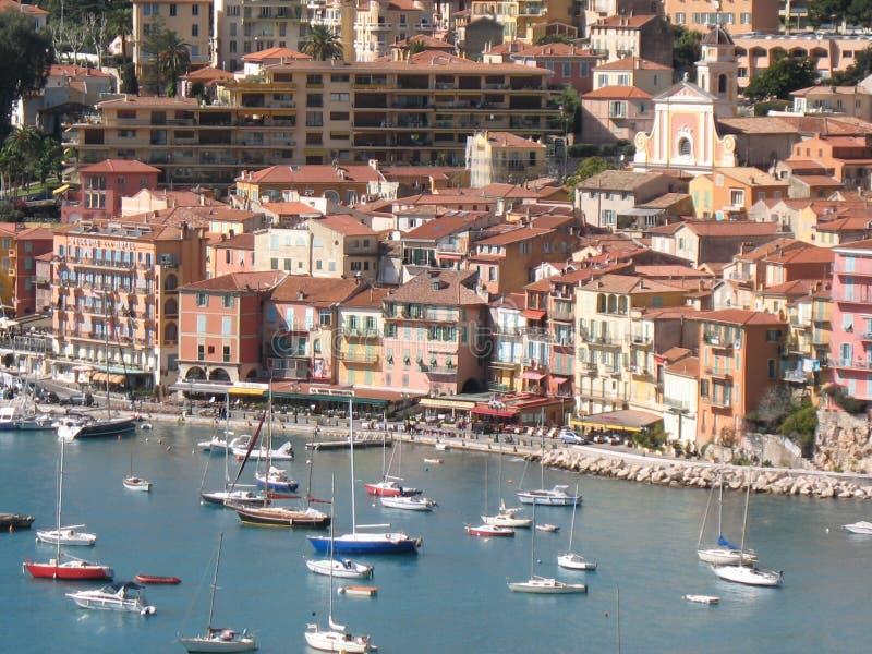 Riviera francesa - lugares famosos imágenes de archivo libres de regalías