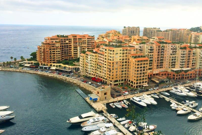 Riviera francesa mónaco Monte Carlo puerto fotos de archivo libres de regalías