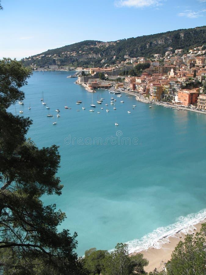 Riviera francese - posti famosi fotografia stock