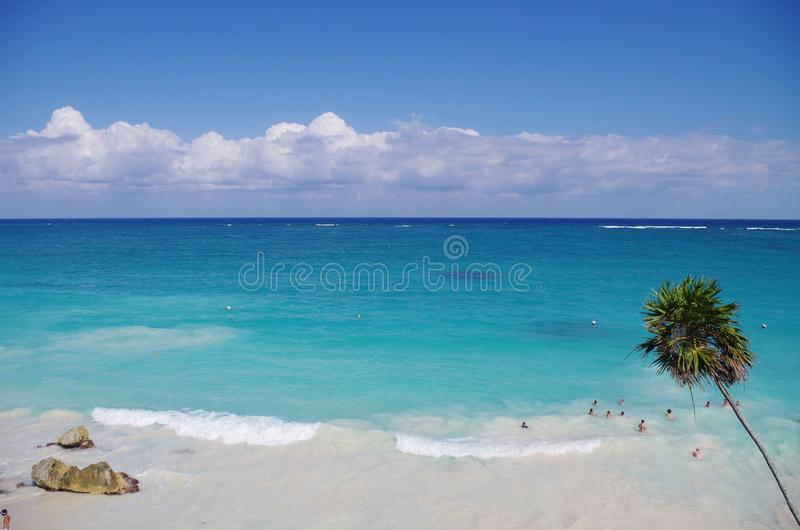 Riviera Maya royalty-vrije stock foto