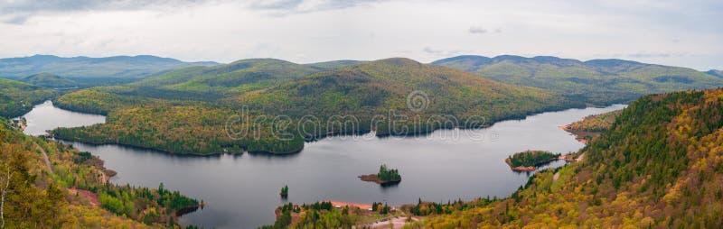 Riviere rouge, Mont Tremblant National Park, Laurentian Mountains, Quebec stock photo