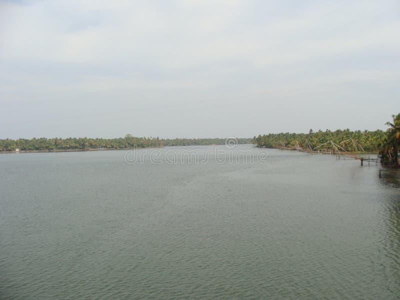 Rivieren van Kerala stock afbeelding
