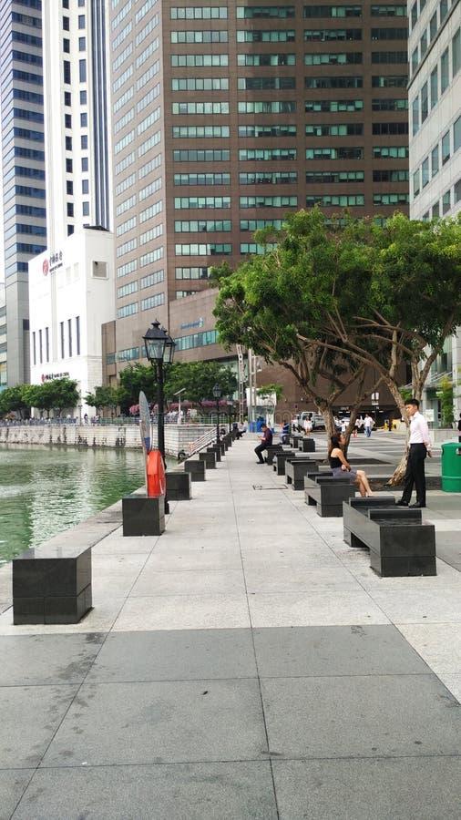 Riviergang in Singapore royalty-vrije stock foto's