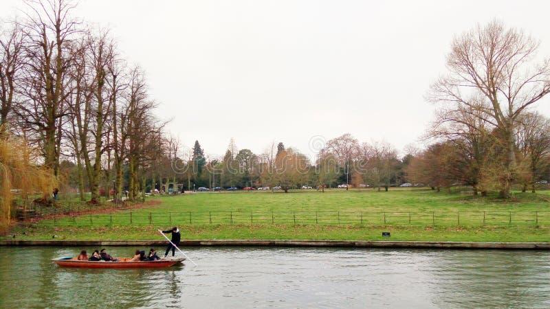 Riviernok, Cambridge, Engeland royalty-vrije stock foto