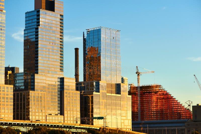 Rivieroeverbuurt in de Stad van New York royalty-vrije stock fotografie