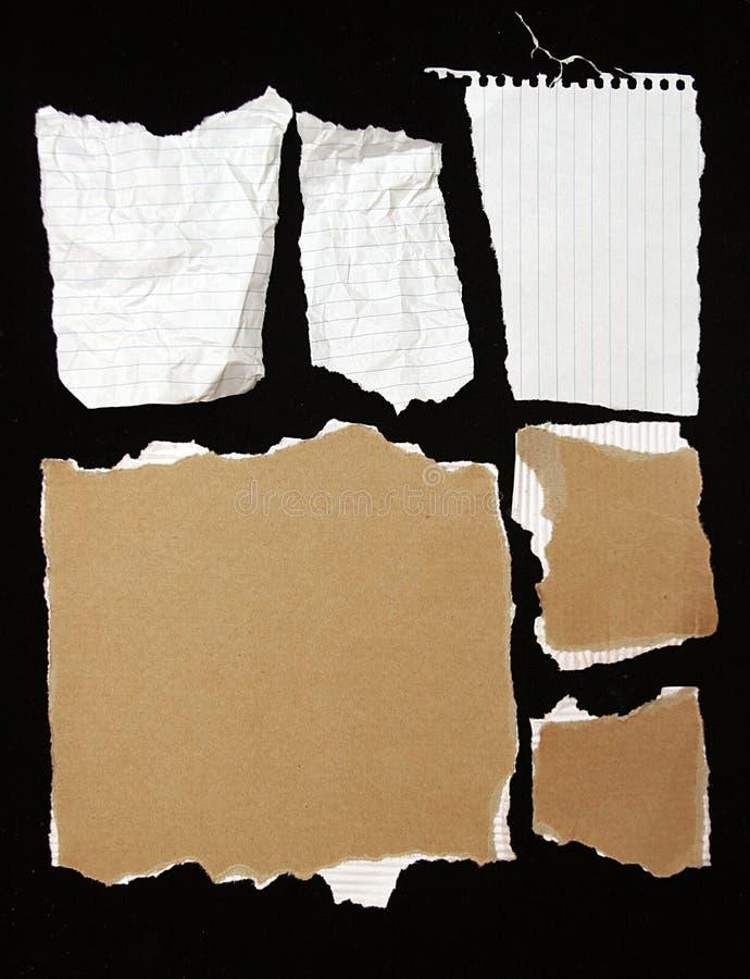 rivit sönder arkivfoton