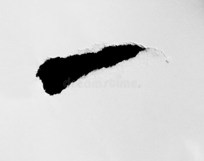 Rivit sönder och sönderrivet papper arkivfoton