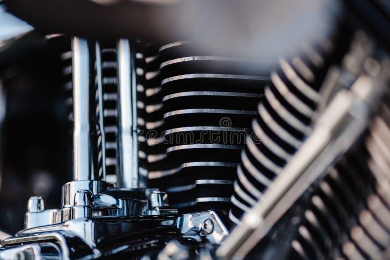 Rivne, Ukraine - 23. September 2019: Einzelheiten zu Harley-Davidson Fat Boy Abgasleitungen für Motorräder Schließen einer cl stockfoto