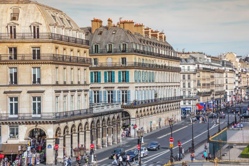 rivolirue för de paris royaltyfria foton
