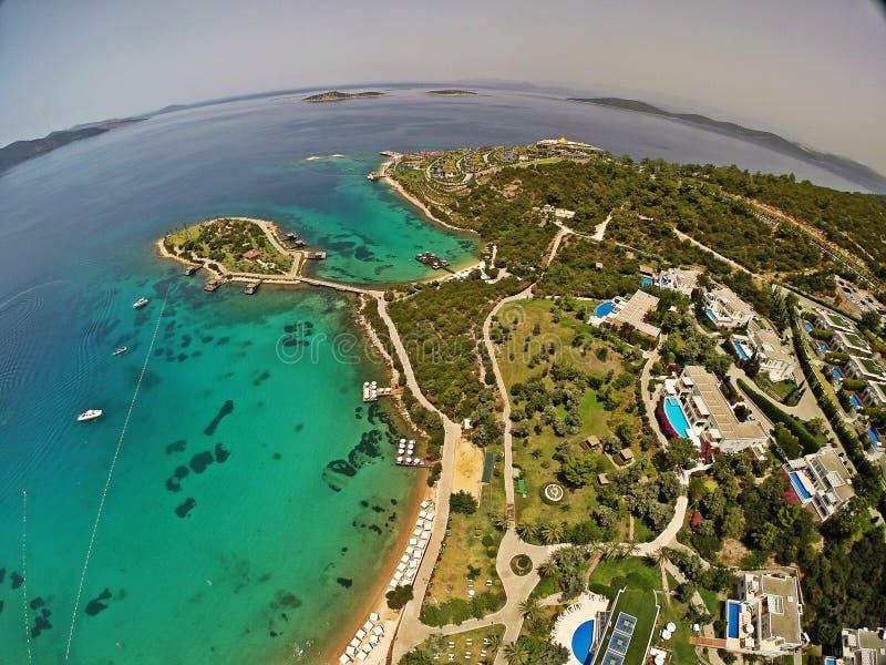 Rixos premii Bodrum hotel, Turcja zdjęcia royalty free