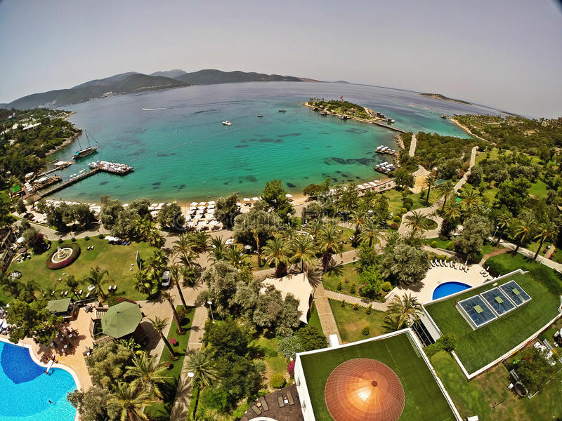 Rixos premii Bodrum hotel, Turcja zdjęcia stock