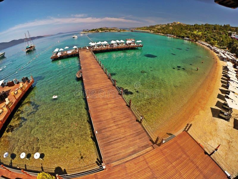 Rixos premii Bodrum hotel, Turcja fotografia royalty free