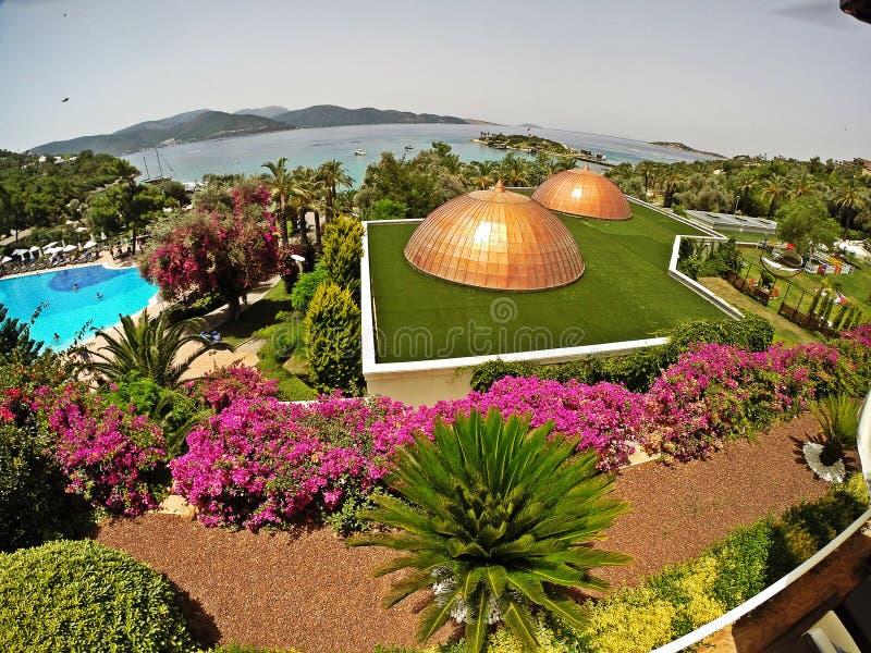 Rixos premii Bodrum hotel, Turcja zdjęcie stock