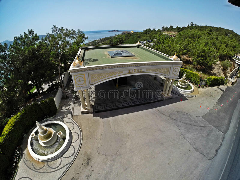 Rixos premii Bodrum hotel, Turcja fotografia stock