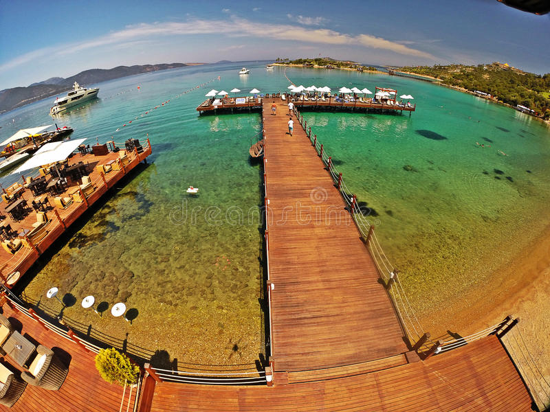 Rixos premii Bodrum hotel, Turcja obraz royalty free