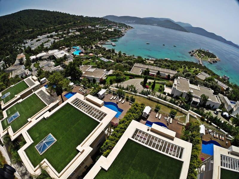Rixos premii Bodrum hotel, Turcja obrazy royalty free