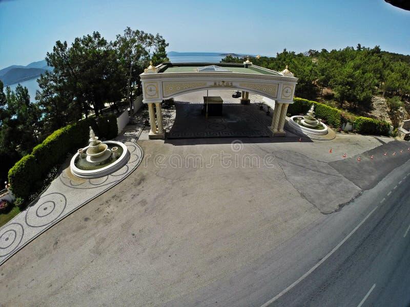 Rixos premii Bodrum hotel, Turcja obrazy stock