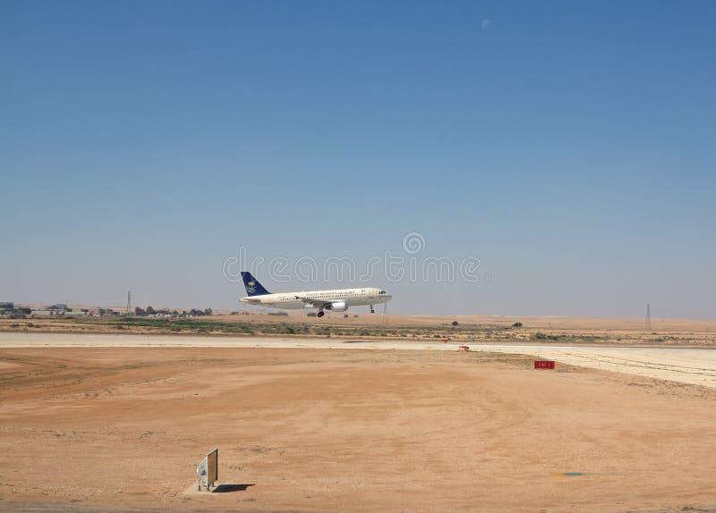 Riyadh flygplats arkivfoton