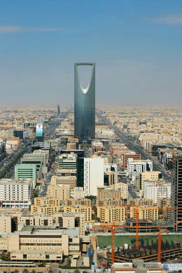 Riyadh - l'Arabie Saoudite - panorama photos libres de droits
