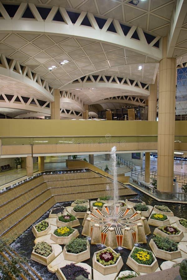 Riyadh luchthaven royalty-vrije stock afbeeldingen