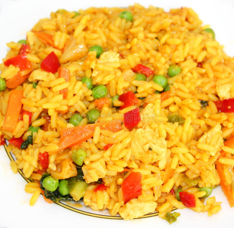 riz asiatique avec des l gumes image stock image du vitamines asiatique 32602363. Black Bedroom Furniture Sets. Home Design Ideas