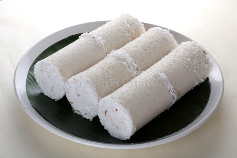 Riz blanc Puttu photo libre de droits