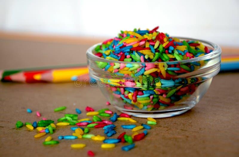 Riz coloré photos stock