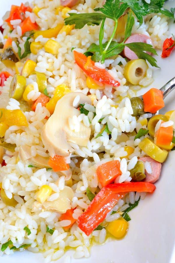 Riz de salade photos libres de droits