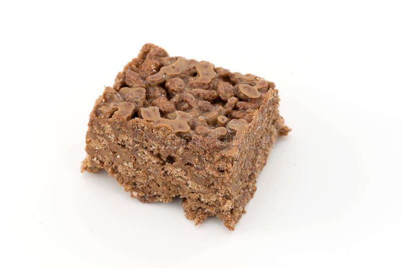 Riz et chocolat soufflés images libres de droits