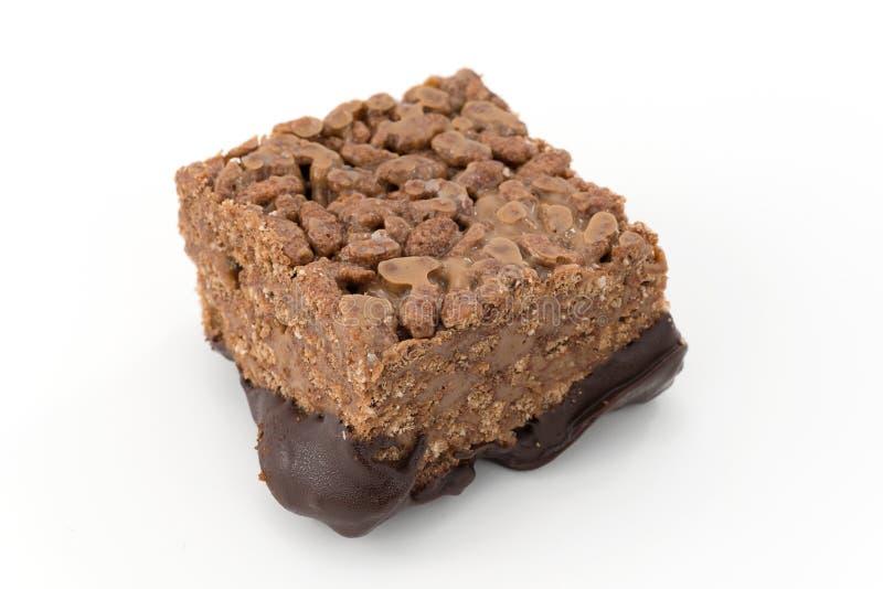 Riz et chocolat soufflés photos stock