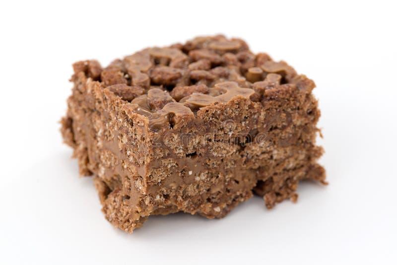 Riz et chocolat soufflés images stock