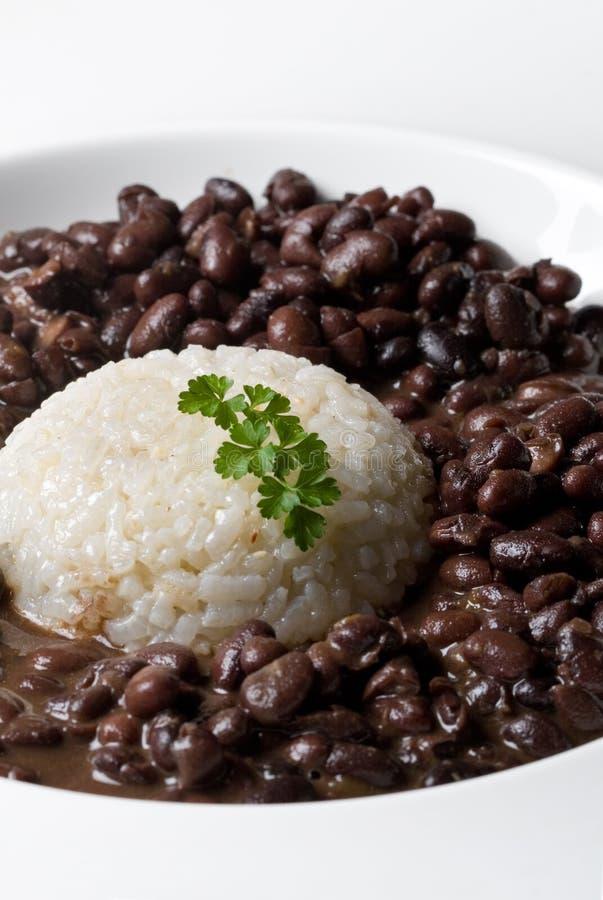 Riz et haricots photos stock