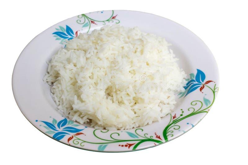 Riz et plat photo stock