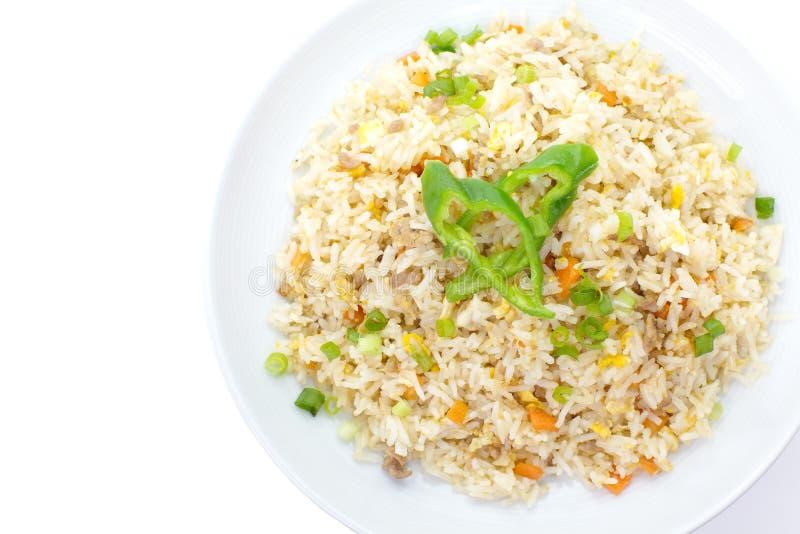 Download Riz frit photo stock. Image du type, asie, avec, déjeuner - 87701070