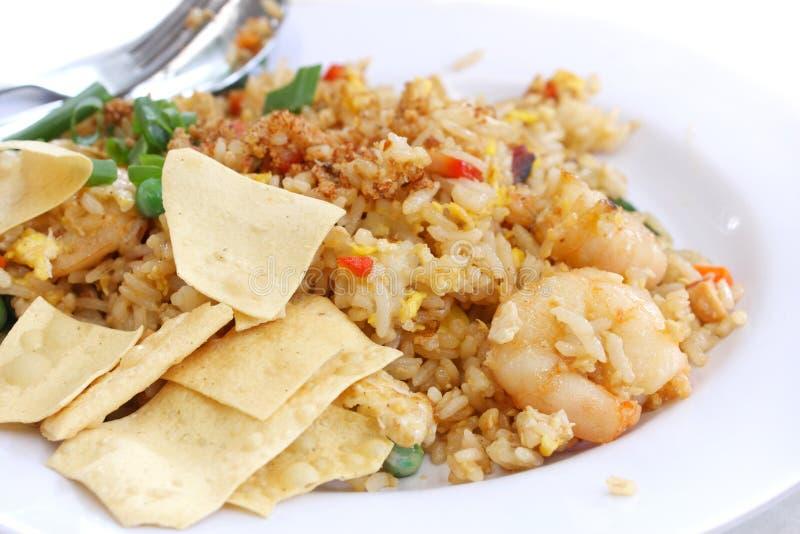 Riz frit chinois photos stock
