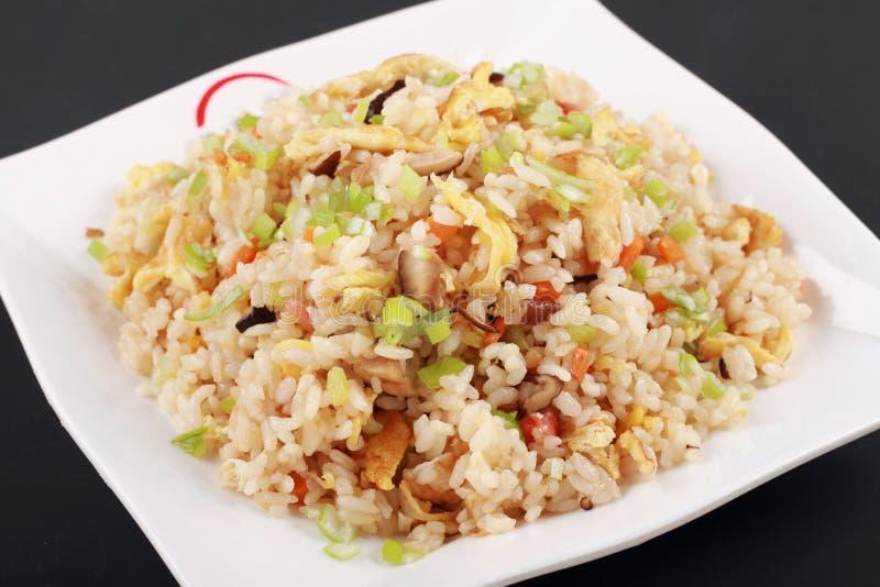 Riz frit chinois de Yangzhou photos stock