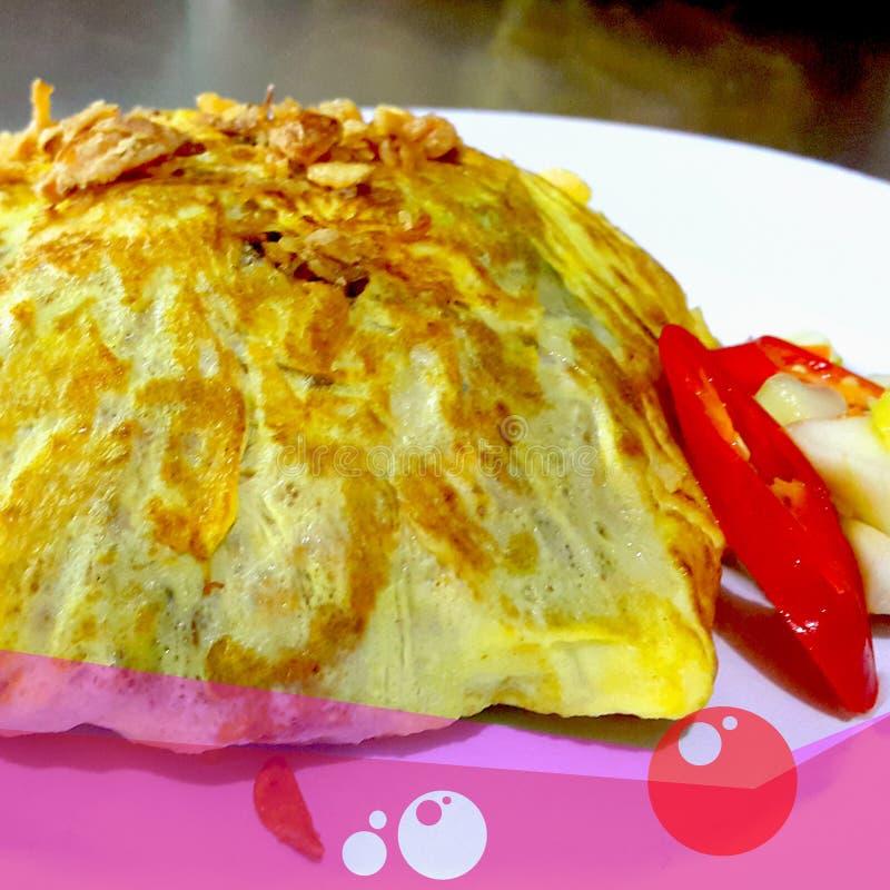 Riz frit de Pataya images libres de droits
