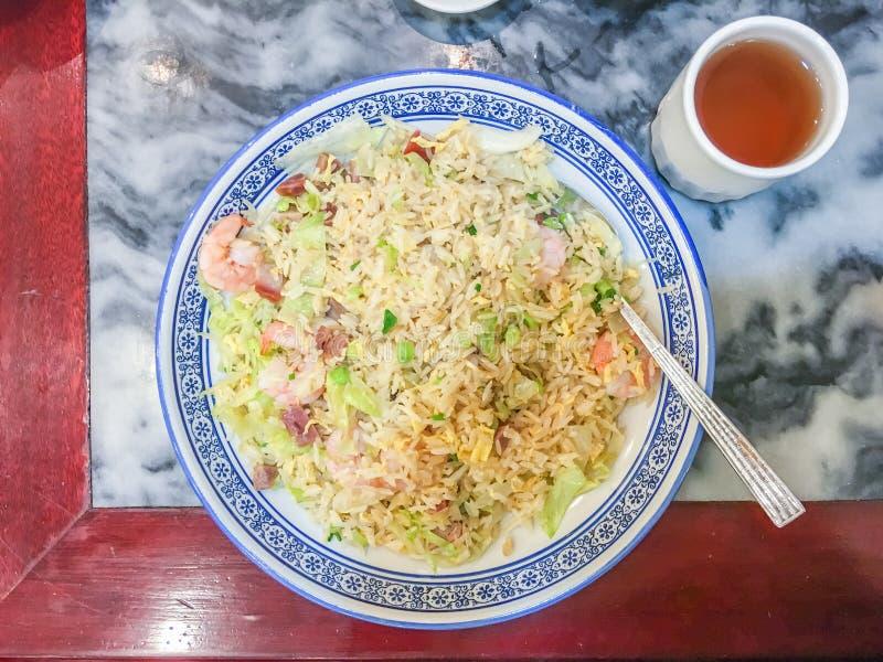 Riz frit de Yangzhou images stock