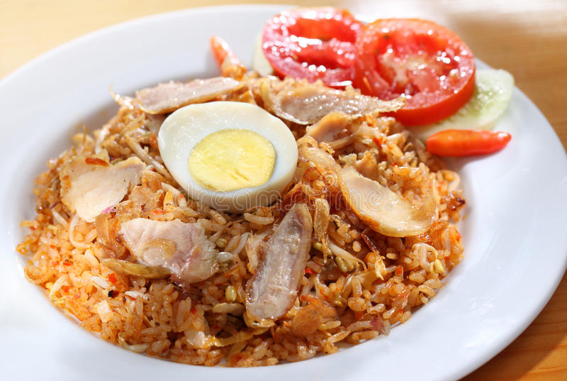 Riz frit indonésien photos libres de droits