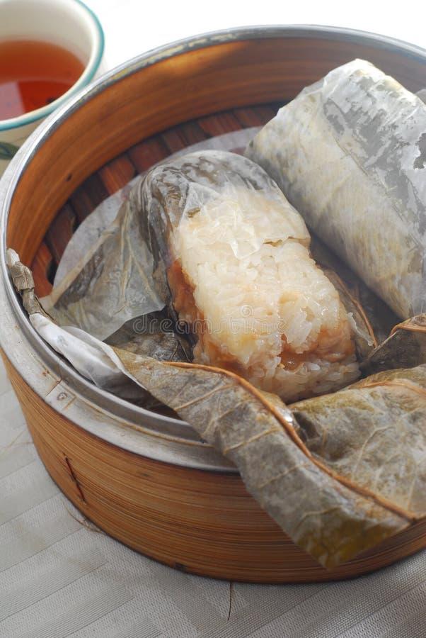 Riz visqueux de poulet photos libres de droits