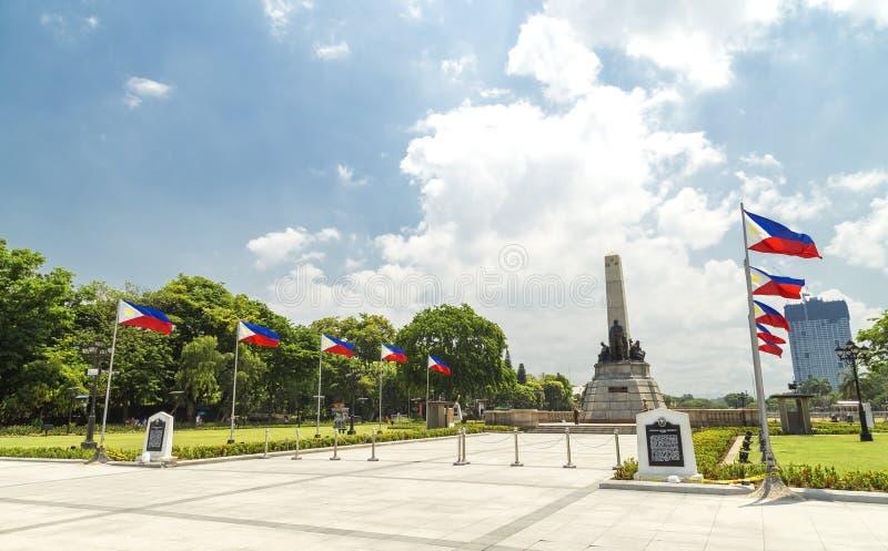 Rizal Luneta park, Manila, Philippines stock image