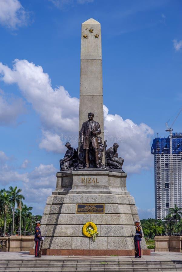Rizal park, Manila fotografia stock