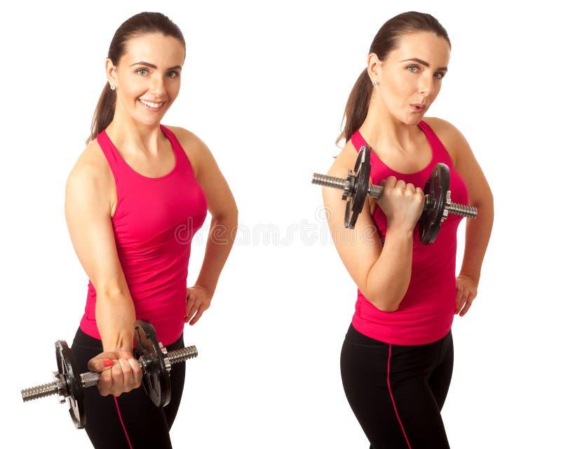 Rizo del bíceps foto de archivo