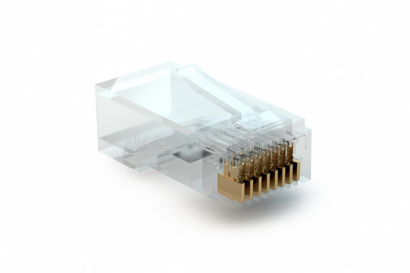Download RJ45 stock illustration. Illustration of transparent - 22715446