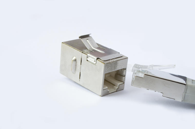 Download RJ45 Connector stock illustration. Image of image, network - 25889874