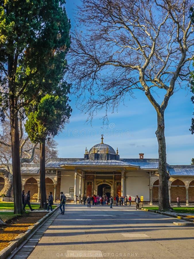 Rkey de ¼ de TÃ, Istanbul, palais de Topkapi photographie stock libre de droits